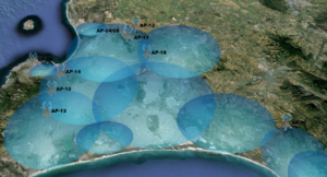 KABTech Wireless Internet Cape Town Coverage Map